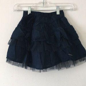 Abercrombie & Fitch Navy Blue Mini Skirt